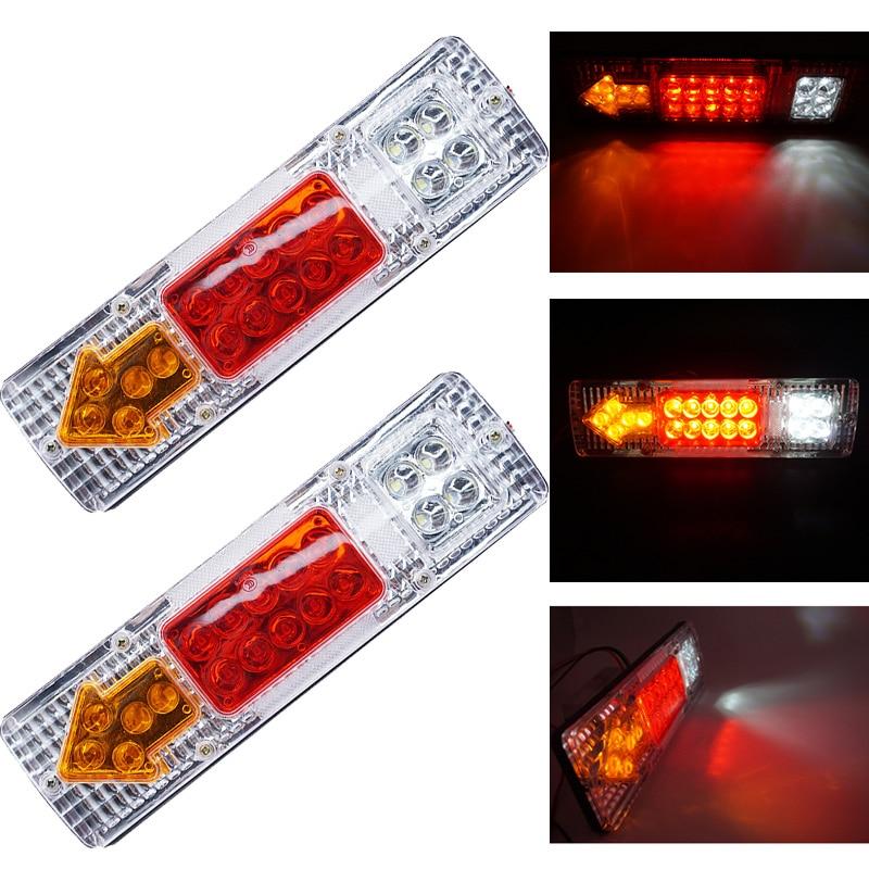 Led Truck Tail Lights >> 19 Led Truck Trailer Rear Light Waterproof Camper Indicator