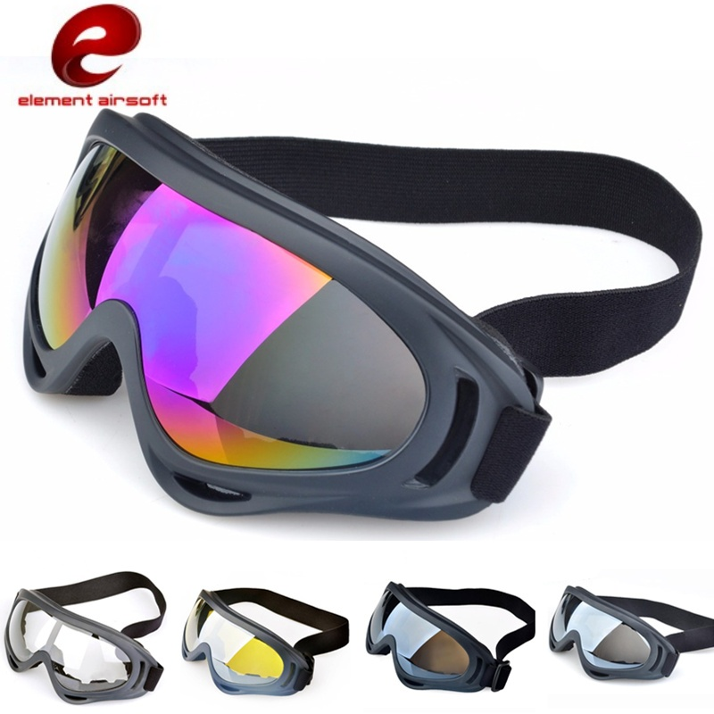 Element Tactical Airsoft Eye Protective Anti-fog Glasses Goggles Outdoor Sport Hunting Masks EX391