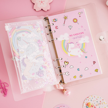 Unicorn Planner Book A6 Notebook Set