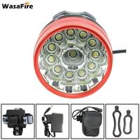 WasaFire farol จักรยาน 20000lm 12 * XM L T6 LED จักรยานจักรยานแสงจักรยานไฟหน้า 3 โหมดโคมไฟตกปลา Frontlight frontlamp|ไฟจักรยาน|กีฬาและนันทนาการ -