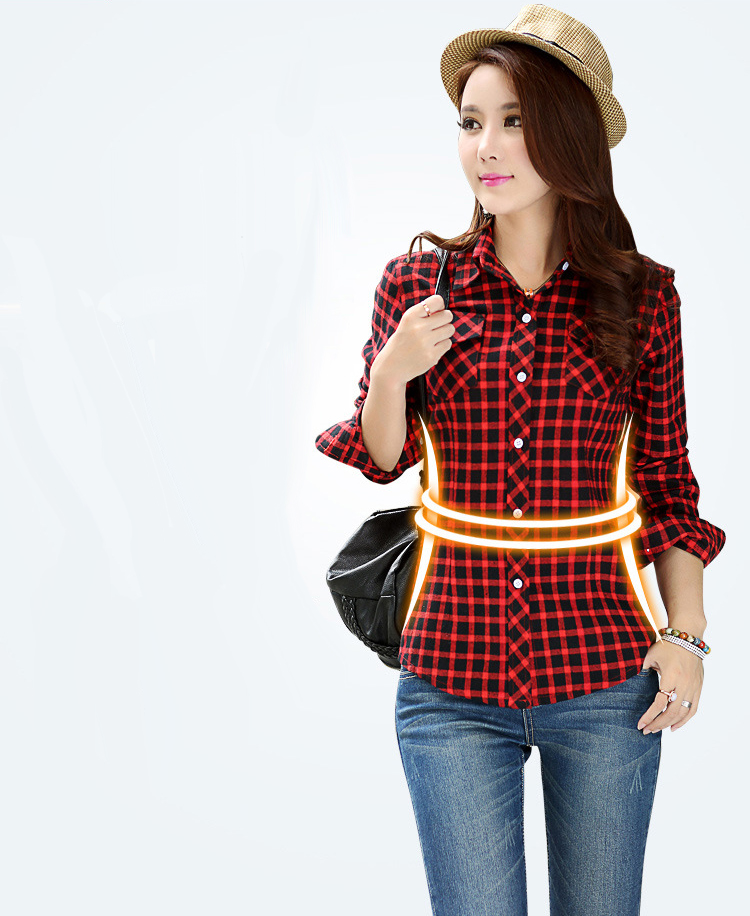 HTB1dvBZNFXXXXarXpXXq6xXFXXXk - Velvet Thick Warm Women's Plaid Shirt Female Long Sleeve
