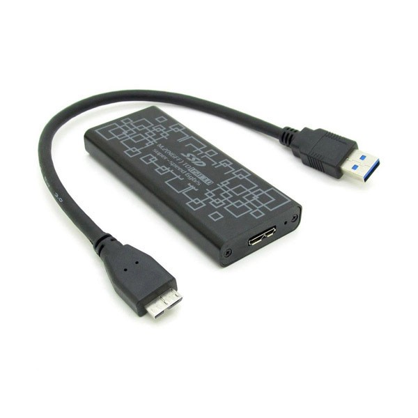 2015-Hot-USB3-0-to-M-2-NGFF-PCI-E-Converter-Adapter-Enclosure-Case-B-M(3)