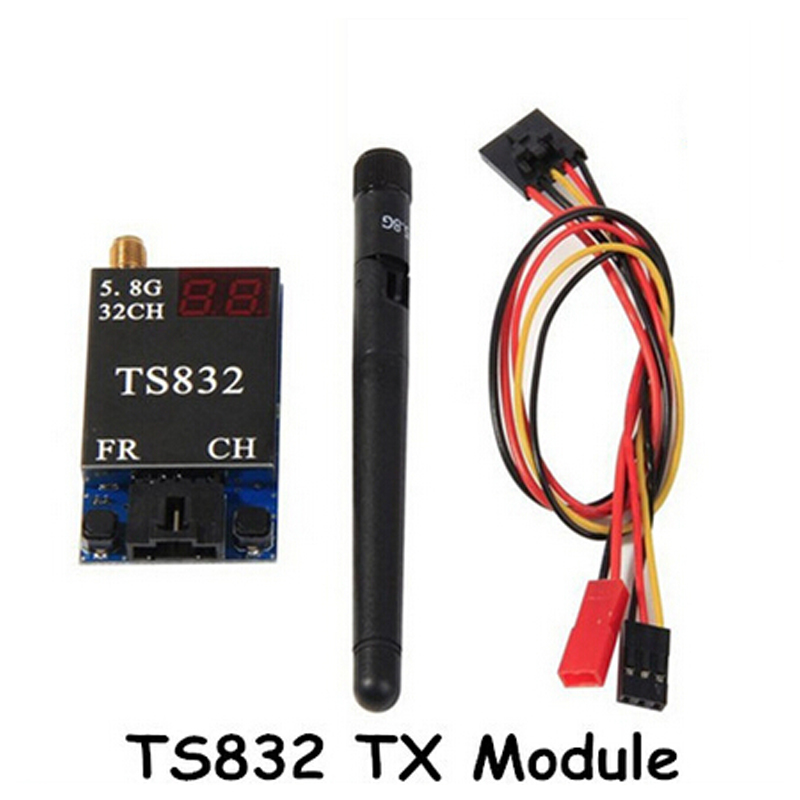 Boscam FPV 5.8Ghz 600mw 32CH AV Transmitter TS832 FPV AV Wireless System Free Shipping eachine ts832 boscam fpv 5 8g 32ch 600mw 7 4 16v wireless av transmitter