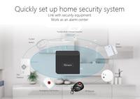 Sonoff RF köprüsü WiFi 433 MHz yedek akıllı ev otomasyonu Wi-Fi uzaktan RF denetleyici evrensel anahtarı akıllı Domotica
