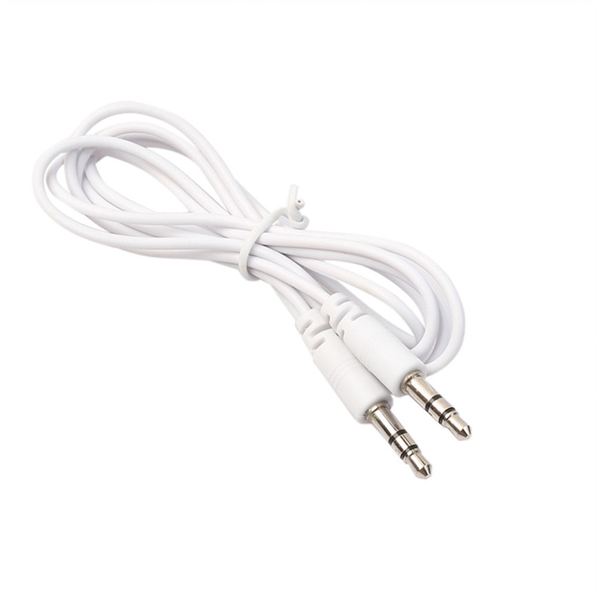 2017 Hot 3 Feet 3 5mm Stereo Auxiliary Cable Male To Male Flat Audio