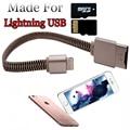 Pendrive 128 ГБ Кабель USB SUsb Флэш-Накопитель Для iphone 7 6 s 6 Плюс 5 5S ipad Молния OTG 8 ГБ 16 ГБ 32 ГБ 64 ГБ Ручка HD memory stick
