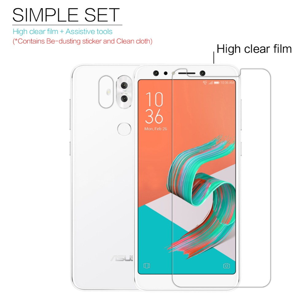 Asus Zenfone 5Q Screen protector NILLKIN super clear lcd Protective Film & Matte Screen Protection for Asus Zenfone 5 lite
