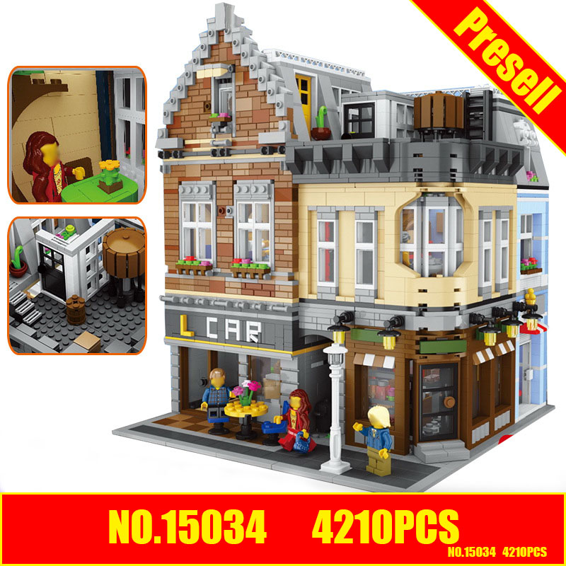 Lepin 15034 4210Pcs Genuine MOC Series The New Building City Set Building Blocks Bricks Educational Toy Model As Christmas Gifts