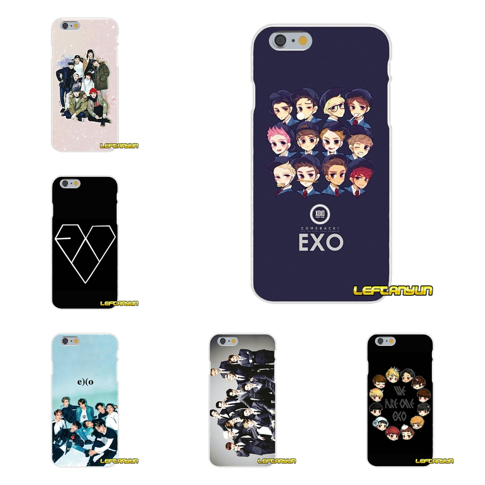 EXO Accessories Phone Cases Covers For Samsung Galaxy A3 A5 A7 J1 J2 J3 J5 J7 2015 2016 2017