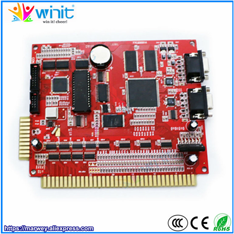 XXL 15 in 1 red PCB game board low win rate 50%-80% casino gambling multi game PCB for LCD VGA arcade cabinet slot game machine casino games multi game xxl 17 in 1 with high win rate 90 96% slot game board slot game pcb