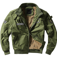 2017 New Men S Flight Jackets Military Uniform Casual Jacket Multi Pocketed Tooling Jackets Military Tactical