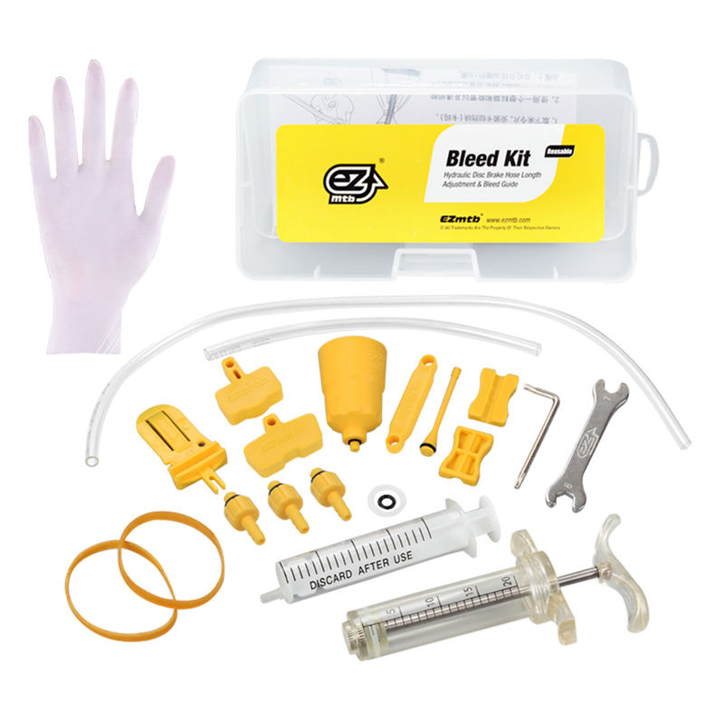 Bicycle Hydraulic Disc Brake Mineral Oil Bleed Kit
