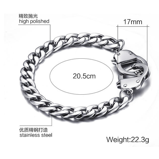 Stainless Steel Handcuffs and Bracelets