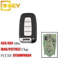 BHKEY 4 boutons Smart télécommande clé sans clé Fob 433 Mhz pour KIA SY5HMFNA04 pour Kia Forte Soul Rio Borrego Sorento Optima PCF7952 puce