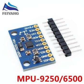 10pcs MPU-9250 GY-9250 9 축 센서 모듈 I2C/SPI 통신 Thriaxis 자이로 스코프 + 3 축 가속도계