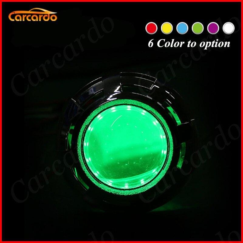 Carcardo 2PCS Reflektory samochodowe DIY Diabelskie oczy Zestaw - Światła samochodowe - Zdjęcie 6