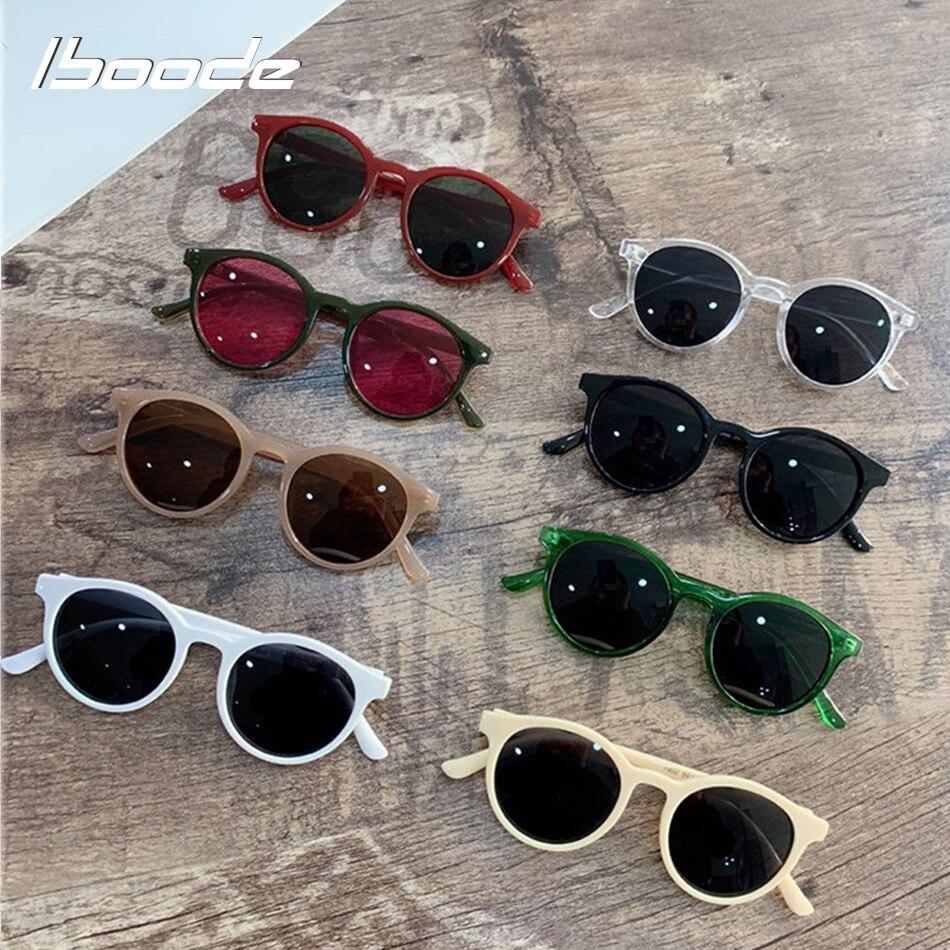 Iboode, gafas De Sol redondas Retro Para Niños y Niñas, 2020 UV400, gafas De Sol para niños, gafas De Sol simples Vintage para niños, gafas De Sol