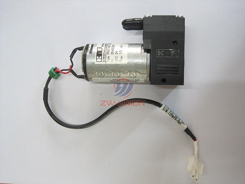 Good quality! original knf flora 24v pump for Flora Solvent Printer PM21461-NMP830 original new flora lj3208 lk3208 large format printer 24v pump pm21461 nmp830 solvent pump spare part