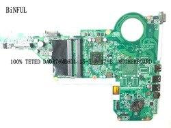 BiNFUL 100% testé nouvelle carte mère DA0R76MB6D1 pour carte mère d'ordinateur portable HP pavillon 17-E à bord du processeur