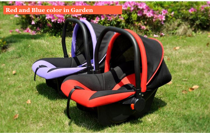 2017 Brand Newbore Cradle Bil Säkerhetssäten Justerbar Baby Car - Barnsäkerhet - Foto 5
