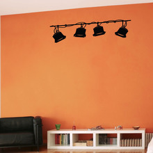 STAGE LIGHTING – Wall Decal 4 Home Theater Music Studio 14X60inch
