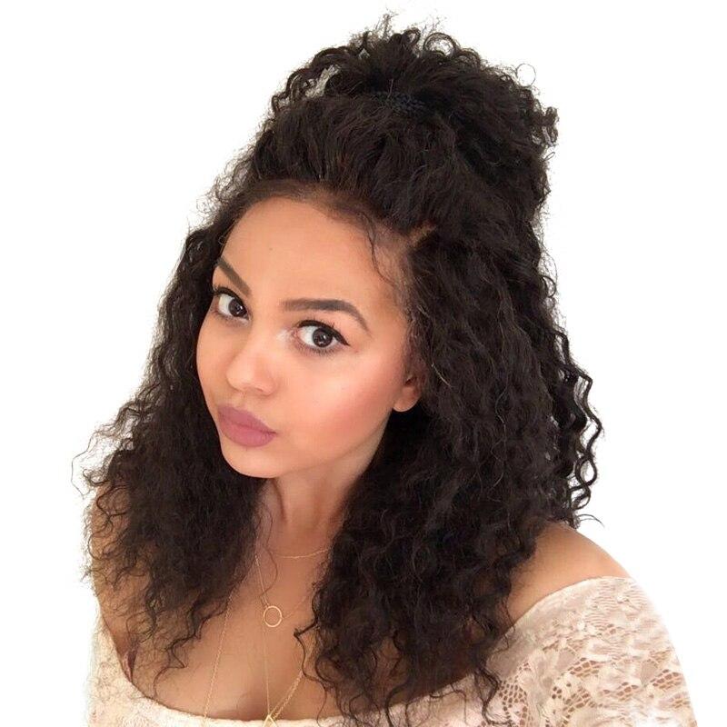 360 Kant Frontale Sluiting Pre Geplukt Diepe Golf Sluiting Braziliaans Maagdelijk Haar Met Baby Haar CARA Human Hair Frontals