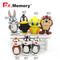 Bunny USB Flash Drive Daffy Duck Pen Drive 4gb 8gb 16gb 32gb Tweety USB Stick Devil Pendrive External Storage plastic u disk