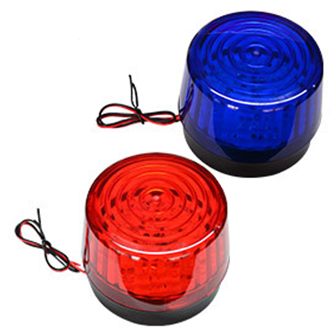 Hot Sale Mini Wired Strobe Siren Signal Warning Light Flash Siren LED Highlight Alarm Lamp for Car Security Alarm System DC12V