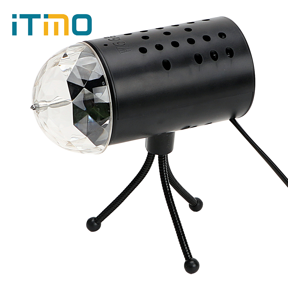 ITimo RGB Crystal Stage Light Club Disco Projector Light