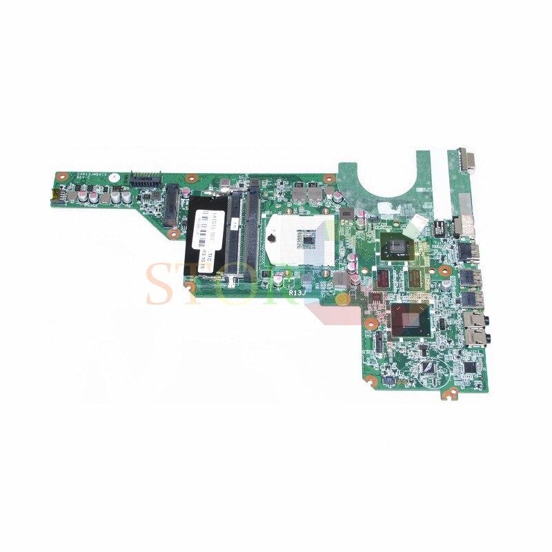 NOKOTION for hp pavilion G4 G6 G7 laptop motherboard DAR13JMB6C0 REV C 681045-001 HM65 DDR3 nokotion 636375 001 da0r13mb6e0 for hp pavilion g4 g6 g7 laptop motherboard 650199 001 hm65 hd6470 1gb ddr3 100% test