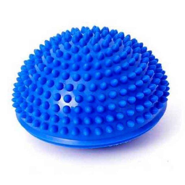 2c58879483 Meia bola de yoga aptidão física aparelho massagem ponto de equilíbrio bola  exercício stepping stones vagens equilíbrio bosu ginásio yoga pilates