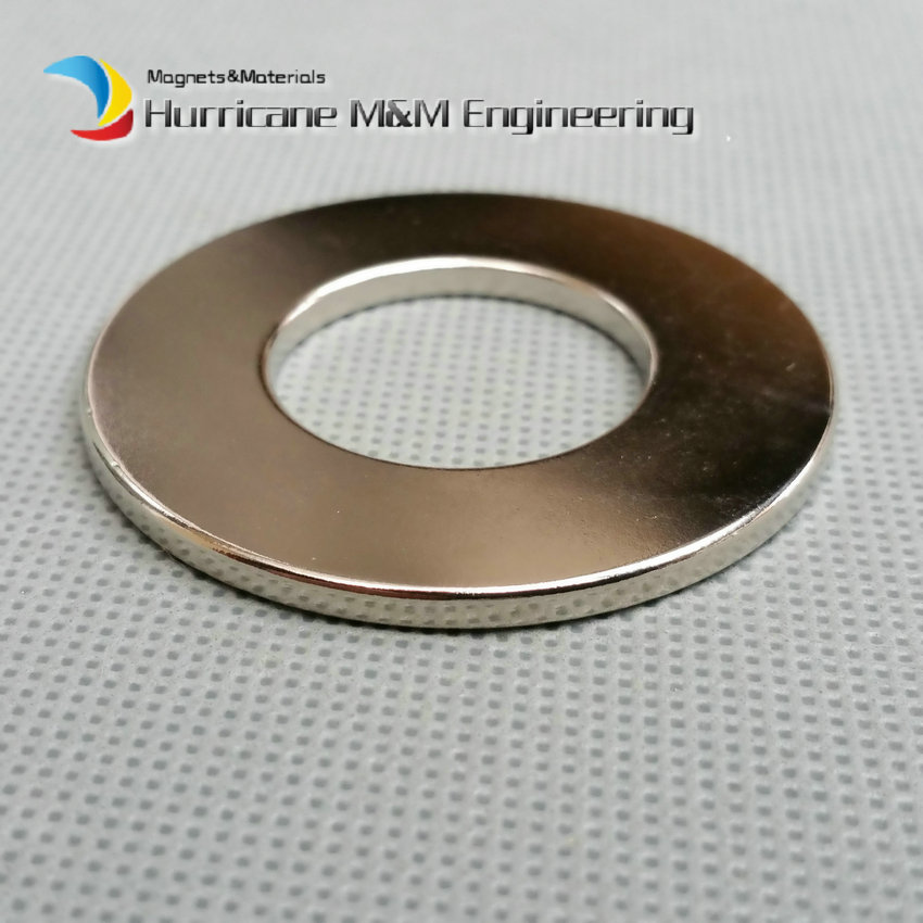 6pcs NdFeB Magnet Ring OD 50x25x3 (+/-0.1)mm thick Strong Neodymium Permanent Magnets Rare Earth Magnetic Tube Precision arrival 8pc 50 25 12 5mm craft model powerful strong rare earth ndfeb magnet neo neodymium n50 magnets 50 x 25 12 5 mm