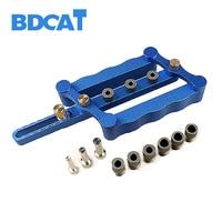 BDCAT 6 8 10mm Self Centering Dowelling Jig Set Metric Dowel Drilling Hand Tools Set Power
