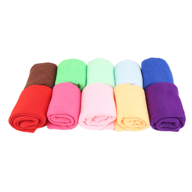 US 15 OFF 5 Pcs Clean Microfiber Cleaning Cloths Best Kitchen Dish Cloths Microfiber Towel For Dish Towels Car Washing In Cleaning Cloths From