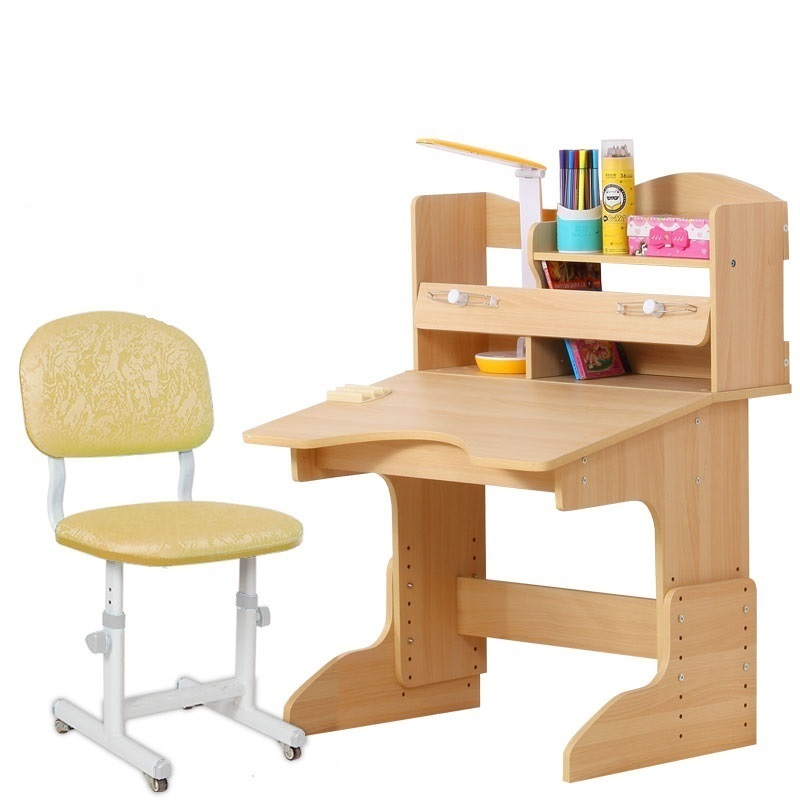Pupitre Tisch Estudio Estudo Set Children Infantil Meja Belajar Estudiar Wood Desk Escritorio Enfant Mesa Study Table For Kids