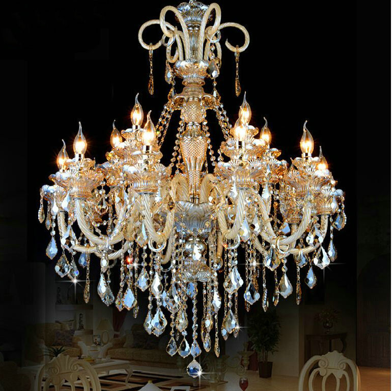 Large Crystal Chandelier Lighting: Compare Prices On Large Chandelier Lighting Online Ping,Lighting