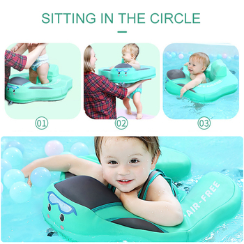 Baby Swimming Ring Inflatable Infant Armpit Floating Kids Swim Pool Accessories Circle Bathing Inflatable Double Raft Rings Toy baby swimming float ring inflatable infant floating kids swimming pool accessories circle bathing inflatable double raft rings