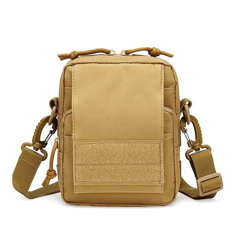 Military Hip Assault Men Nylon Cell/Mobile Phone Messenger Bag Belt Case Fanny Waist Pack Bum Small CrossBody Shoulder Bags