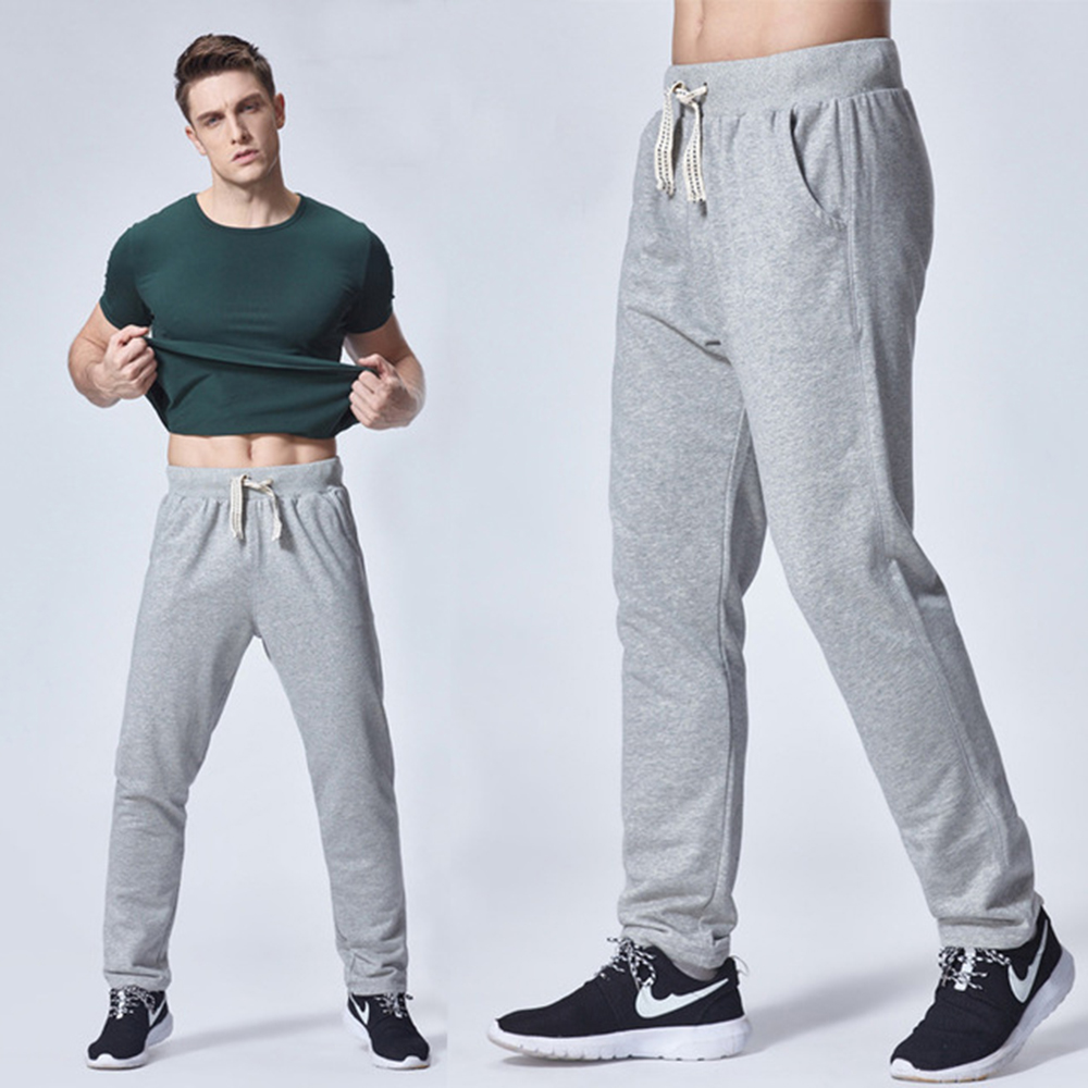 2019 Modis Men Jogger Male Trousers Casual Pants Men Sweatpants Men Gym Muscle Cotton Fitness Hip Hop Elastic Pants