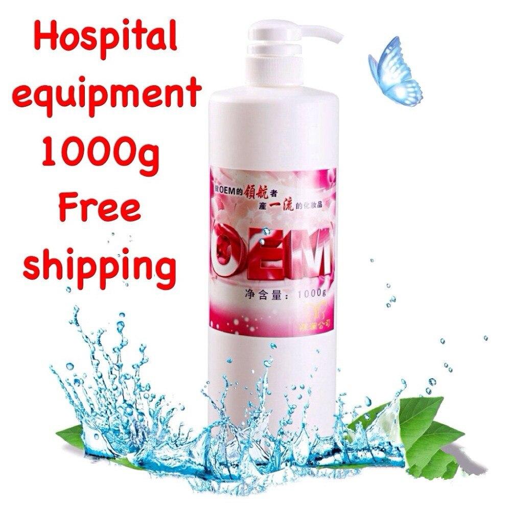 Acide aminé nettoyant pour le visage nettoyage en profondeur mousse nettoyant pour le visage blanchissant hydratant 1000g équipement hospitalier