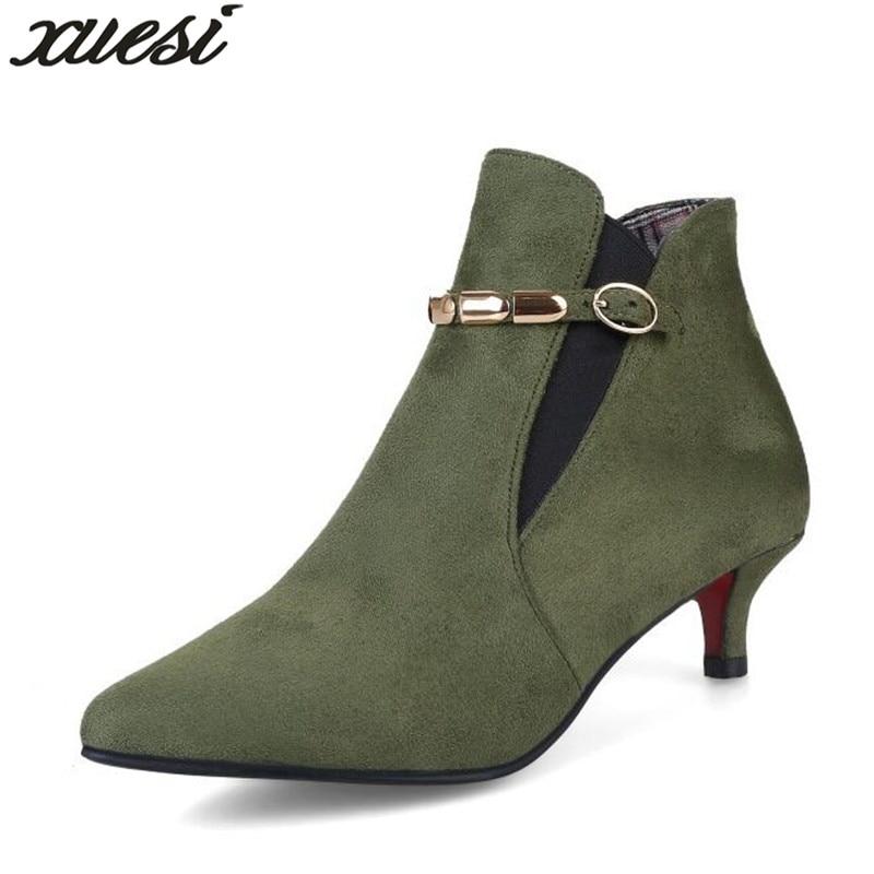 Doc Martens Femmes Bottes Platform Shoes Zapatos De Mujer Invierno Piel Caliente High Heel Platform Ankle Boots Womens Boots