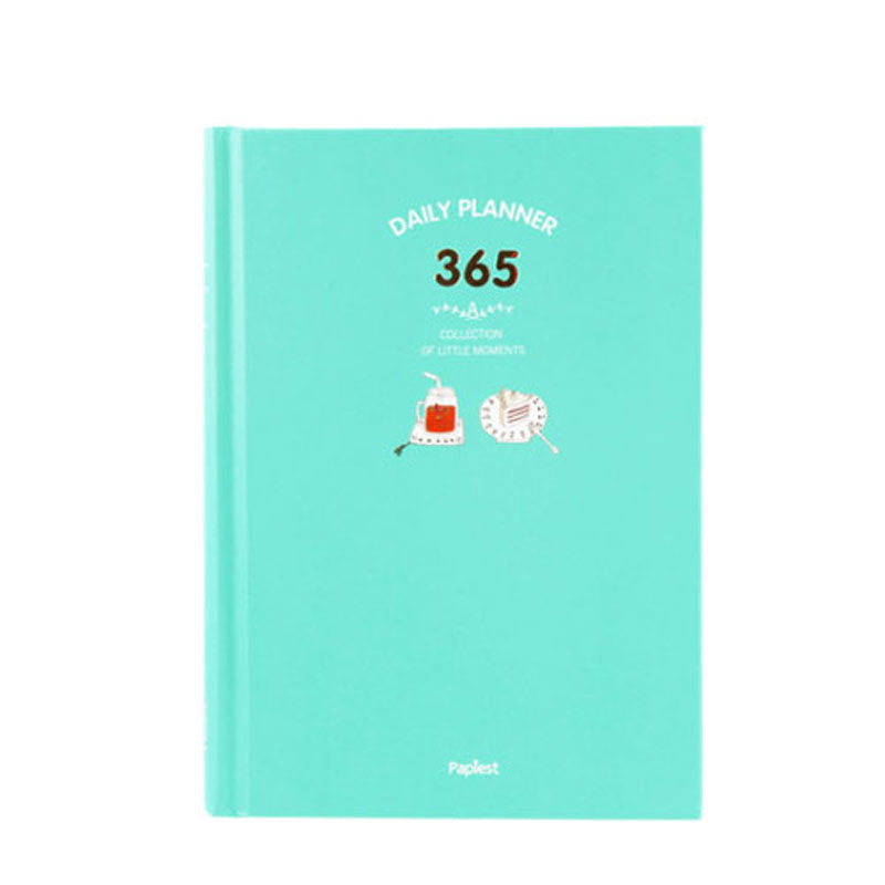 2018 New Kawaii Cute 365 Day Planner Diary Notebook Daily Weekly Monthly Yearly Planner Agenda Schedule Journal Notebook 365 day thick hardcover personal diary