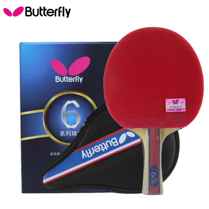 100 Original Butterfly Tbc 601 Professional Table Tennis Racket Ping Pong Paddle Bat Blade
