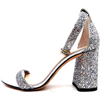 f7d4463f18 Sexy sandálias para as mulheres moda bling srtap do tornozelo dos saltos  altos das senhoras sapatos