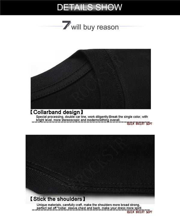 Rocksir 3D Design Casual Αντρικά μπλουζάκια - Ανδρικός ρουχισμός - Φωτογραφία 6