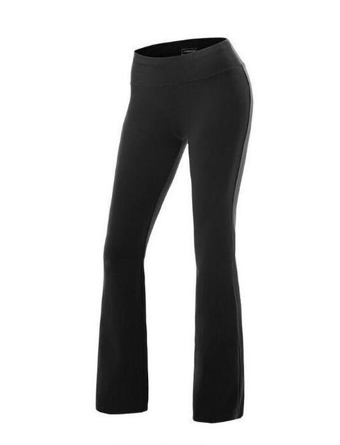 Calças de Exercício da Aptidão das mulheres Calças Slim Calças De Compressão Leggings Quadris Sensuais Empurrar Para Cima