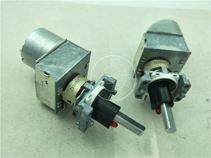1pcs/lot Original Japan ALPS RK16312MCL1TA Double With Light With Remote Control Motor Potentiometer B100K 6 Feet