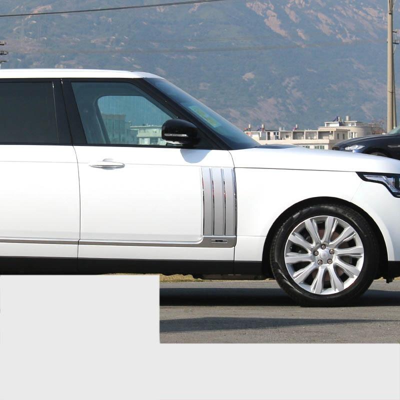 Lsrtw2017 abs Живописи автомобиля молдинги на кузов дверь стикер для range rover Vogue 2012 2013 2014 2015 2016 2017 2018 2019