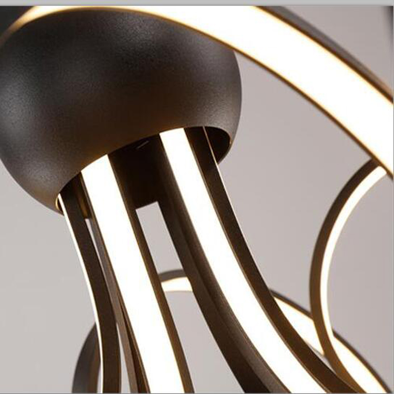 Hoge kwaliteit moderne LED hanglampen Diameter 60 cm 80 cm ...