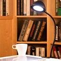 Гибкий Зажим Настольная Лампа Регулируемый Свет Кабель USB LED Reading Light Стол Настольные Лампы для Изучения Чтения Jentinsun Бренд Огни